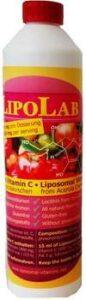 Liposomal vitamin C made of acerola cherries, 500 ml / 16.9 oz
