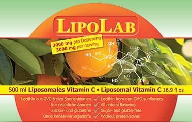 Content declaration of LipoLab