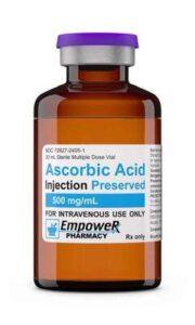 High-dose vitamin c therapy
